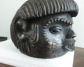 Tiv colonial helmet mask