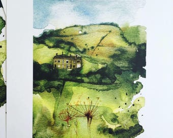 BRAND NEW limited edition print of tge Peak District by Andrea Joseph