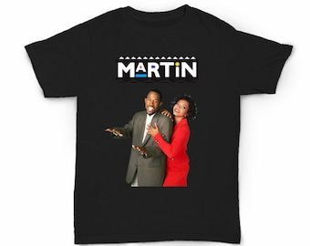 Martin T-shirt - Television Sitcom Show TV T.v. 90's fashion - 80s hip hop rap old school Tisha Campbell-Martin Lawrence Tommy Cole Payne