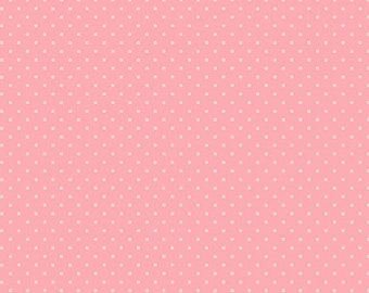 Andover Fabrics - Bijoux - Square Dot French Rose by Kathy Hall