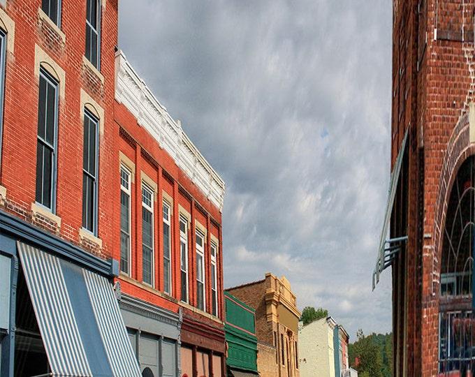 Kentucky, Augusta, Giclee Print, Fine Art Paper, Canvas Print,Kentucky Small Town,Small Town,Framed Artwork, Wall Art, Wall Hanging, paint