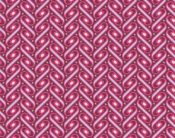 Fabric pink Patchwork, Free spirit, HEIRLOOM Joël Dewberry