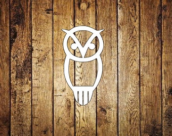 Chi Omega Owl Decal