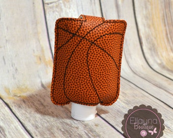 Hand Sanitizer Holder - Basketball