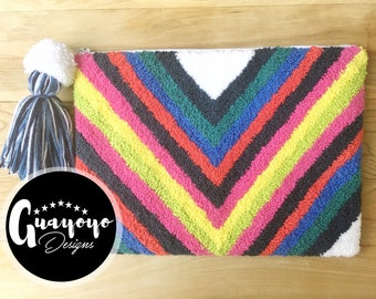Cinetic Rainbow Wayuu Inspired Clutch