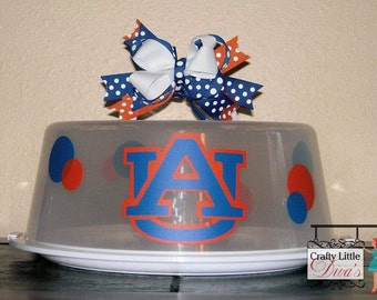 Auburn Cake Carrier Personalized Cake Carrier Cake carrier Cupcake carrier Dessert Carrier Cupcake holder Cupcake plate Cake Plate & Alabama Cake Carrier Personalize Cake Carrier Alabama Cake
