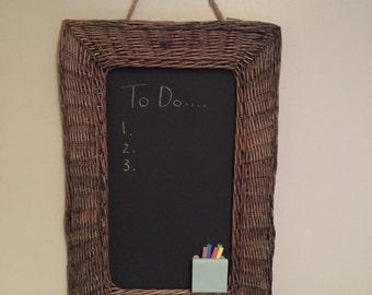 Wicker Blackboard Chalkboard