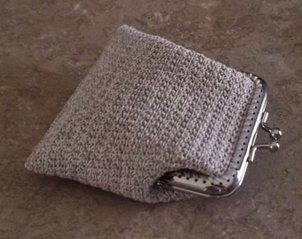 welcome to my shop of many splendid things like this crochet coin purse .