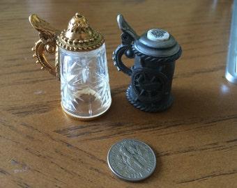 Old miniature mugs
