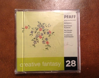 PFAFF Creative Fantasy Embroidery Card