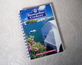 "Vintage Cookbook"" Bermudian Cookery"" Island Recipes Souvenir of Bermuda"