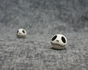 Jack Skellington Skull Head Charm