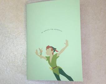 Mini Notebook // Peter Pan