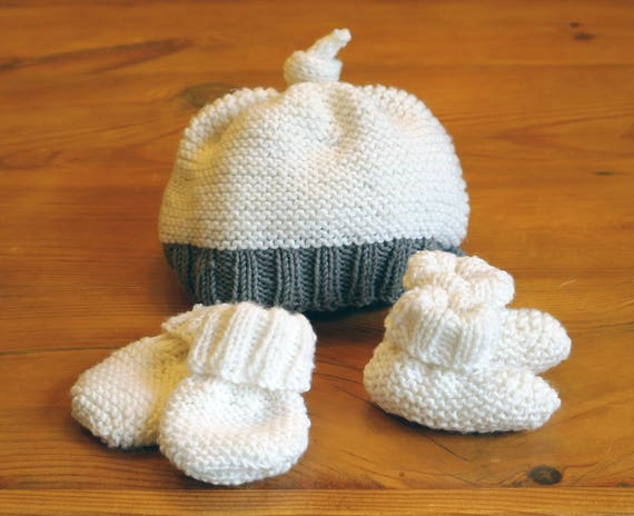 Easy Knitting Pattern Baby Hat Booties Mittens Baby Knitting