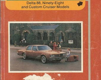 1983 Oldsmobile Delta 88, Ninety-Eight and Custom Cruiser Models  22518551