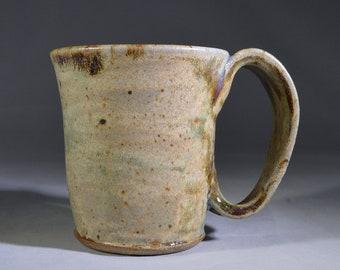 Pasture Green Espresso Mug #1 Handmade Pottery