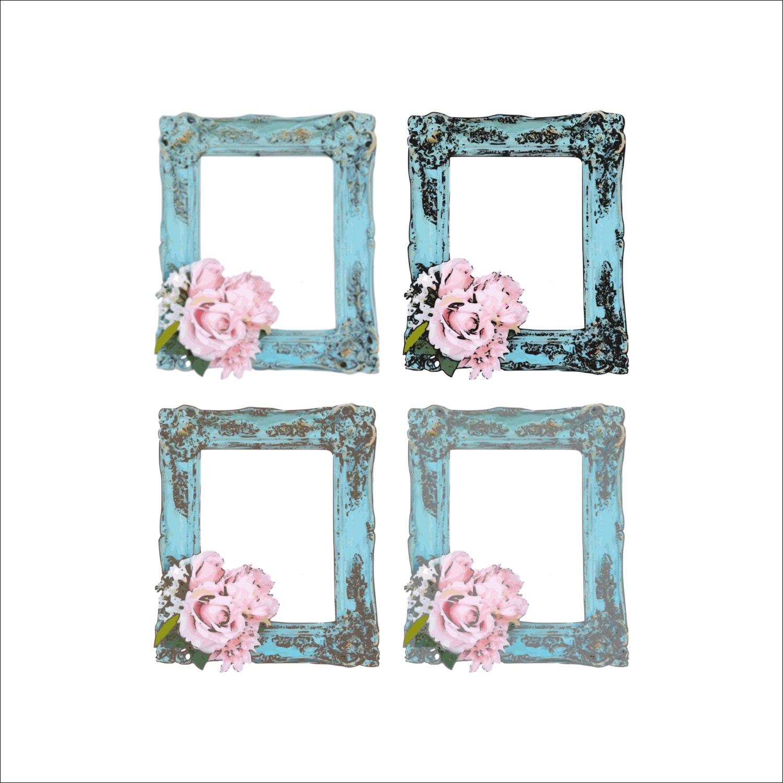 Shabby chic frames cornici per foto digitali shabby chic for Cornici per quadri shabby chic