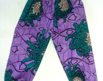 Kids African Print Pants - Choose a Print