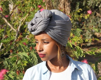 Gray Scarves Gray Wraps Bridal African Headdress Mom Daughter Gift Ideas Gray 2018 African HeadWrap African Scarf Trends 2018 Xmas 2018 Blue