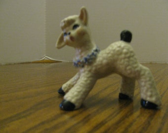 Vintage Ceramic Arts Studio Lamb