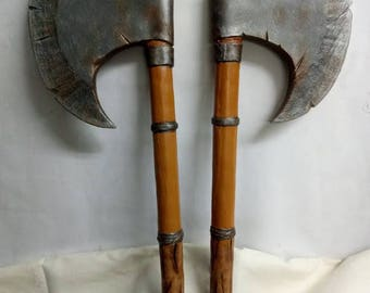 LARP canker styled axes pair