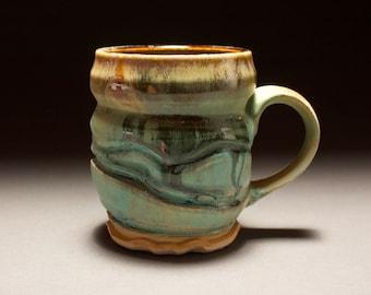 Green Ceramic Mug (M-312)