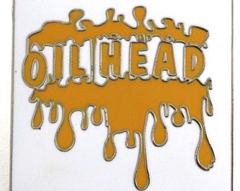 Oil Head Bho Hat Pin