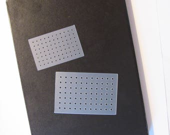 Bullet Journal Stencil Planner Stencil Dot Grid Bujo Stencil ready to ship