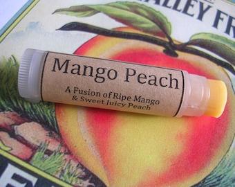 Mango Peach Natural Lip Balm
