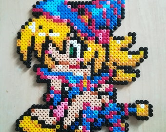 Pixel Art / Perler Beads sorceress of darkness - Yu-Gi-Oh!