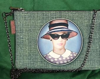 French vintage handbag
