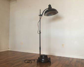 General Electric Converted Sun Lamp Floor Lamp