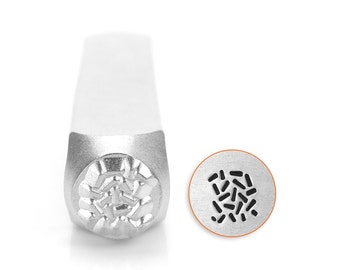 ImpressArt Sprinkle Pattern Metal Stamp, Ready to Ship