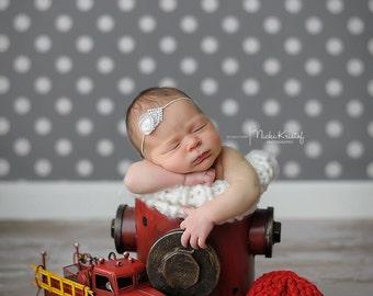 Polka Dots Photo Backdrop, Newborns photography backdrops, vinyl photoshoots background, Children Dots photodrop D-7538