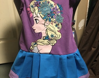 Frozen elsa dress 2t