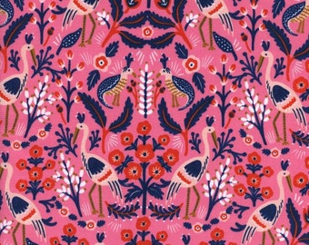 Tapestry Rose from Les Fleurs  - 1/2 Yard - Anna Bond, Rifle Paper Co. for Cotton and Steel