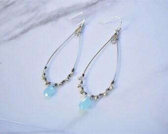 Blue Skies Beach Earrings