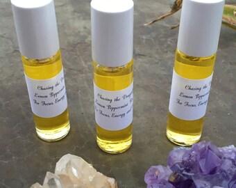 Lemon Peppermint Aromatherapy Oil • 3rd Chakra Balancing •weight Loss•anxiety•10ml