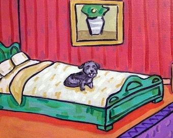 25% off Glen of Imaal Terrier on the Bed Dog Art Tile COaster