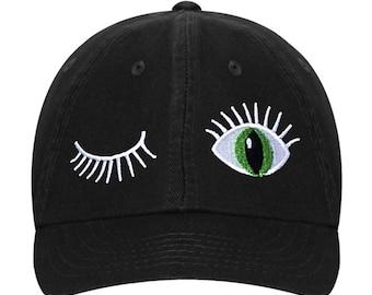 Baseball Hat cat Eyes