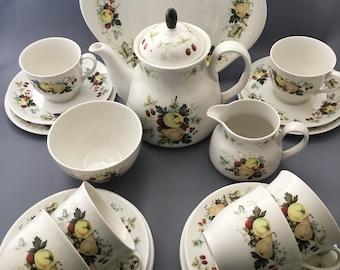 Royal Doulton Miramont 22 Piece Tea Set Including Teapot.Afternoon Tea.