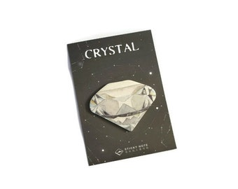 Diamond sticky notes ~ Memo pad ~ Crystal ~