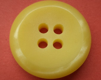 8 yellow buttons 21mm (4939) button yellow