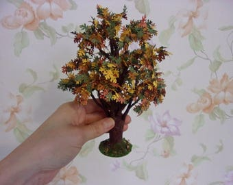 Oak . Tree for garden. Dollhouse Landscape. Miniature Dollhouse. 1:12 Scale