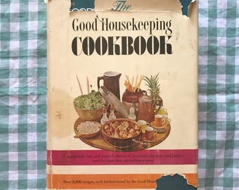 free domestic shipping-The Good Housekeeping Cookbook 1963