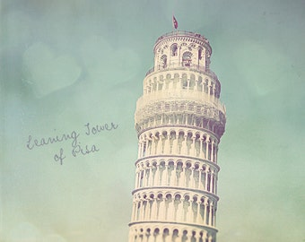 Pisa Photography, Leaning Tower Of Pisa, Leaning Tower Photo, Pisa Print, Pisa Wall Art, Home Art Decor, Pisa Art Print, Pisa Leaning Tower