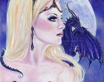 Adelina and the dragons moon  by Renee L. Lavoie
