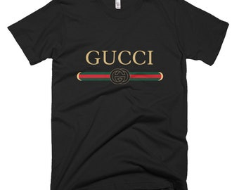Gucci Unisex T-Shirt **FADED VINTAGE LOGO** Other Gucci T-Shirts Available!