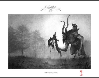 The Guardian - A4 Fine Art Print - Signed and embossed - Fantasy Art