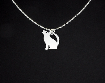 Coyote Necklace - Coyote Jewelry - Coyote Gift